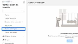 Vincular perfil de Instagram a Business Manager